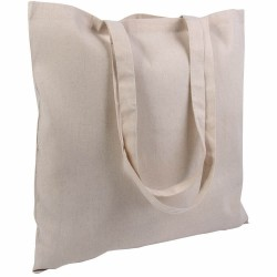 ART. 85 Shopper in cotone naturale 130 gr. F.to 38x42